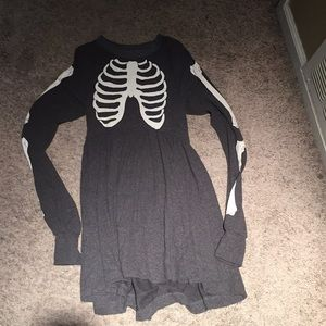 Wildfox skeleton dress